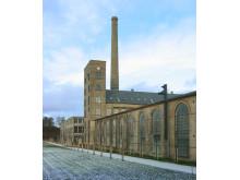 Brede Værk - fabrikken set fra parken