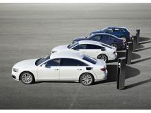 Nye PHEV-modeller fra Audi - A6, A7 Sportback, Q5 og A8