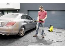 Kärcher K4 FC - rengöring av bil