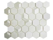 Mosaik Eventyr Den Lille Pige Med Svovlstikkerne Hvid 30x30,  1.648 kr. M2.