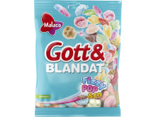 Malaco Gott & Blandat Fizzypop & Co