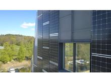Plusenergihus solceller gavel