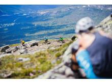 Downhillcykling på Åreskutan under Åre Bike Festival