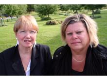 Lena Henricson och Kerstin Johansson