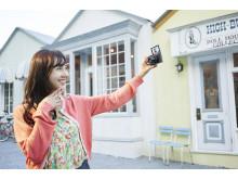 WX500 selfie