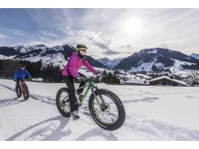 Winter Fatbiken in Gstaad