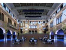 Grand Hôtel, Vinterträdgården, Stockholm tävlar om Svenska Ljuspriset i år.