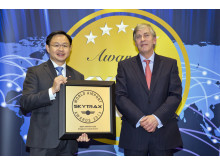 Skytrax 2013 - Best Airport in Asia award
