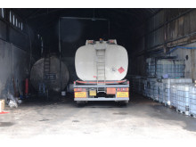 NI 12/14 Four arrested in fuel fraud raid
