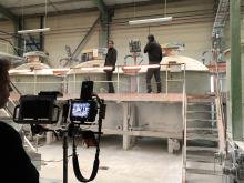 Hauptkommissar Adam Schürk ermittelte u.a. in der Aufbereitungshalle des Sanitärwerks von Villeroy & Boch in Mettlach.