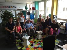 Das Accorhotel Newsroom-Team