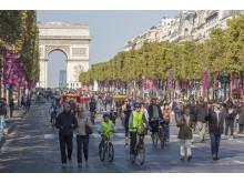Journée sans voiture - Champs Elysées