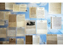 """Mendelssohn-Haus: Ausstellung """"Und wo ist Fanny?"""" - Raum """"Herbst"""""""