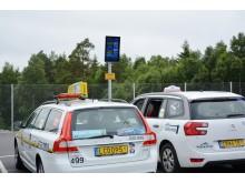 Ny taxiparkering på Landvetter