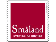 Den nya officiella logotypen för Småland.