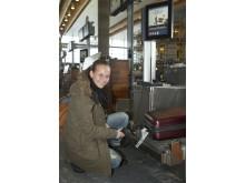 Selvbetjent bagdrop ved Oslo Lufthavn