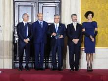 Mr Higashihara receives Leonardo International Award in Italy
