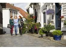 Прогулку по старому городу Ставангера