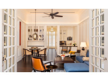 Living Room Residence Suite - Raffles Singapore
