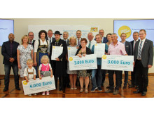 Verleihung Bürgerenergiepreis Niederbayern: Gruppenfoto Sieger