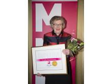 Birgitta Rasmusson - Årets Kulturmappie 2014