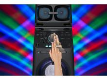 MHC-V90DW Gesture_Control_DJ_Scratch-Mid