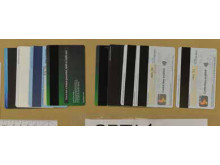 Debit cards seized at an address in East Ham.