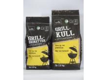 Svanemerket grillkull og grillbriketter fra Norgesgruppen