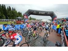 CykelVasan 2014, starten i Sälen