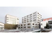 Handelshögskolan i Göteborg, förslag 5: Annex, Från gården