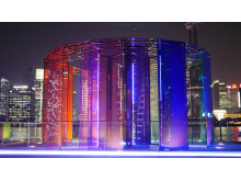 Futuristic traveling pavilions - 1
