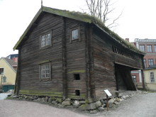 Bild 6 Timmerhus med historia