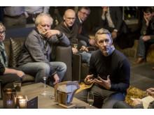 Nya Ford Edge visas upp för Europas journalister i Åre.