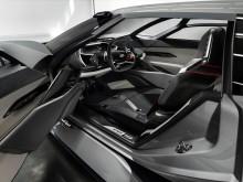 Audi PB18 e-tron (Circuit grey) cockpit til venstre
