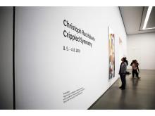 """Blick in die Ausstellung """"Crippled Symmetry"""""""