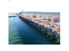 MoorMaster™ units poised for mooring at Port Hedland's Utah Point multi-user berth