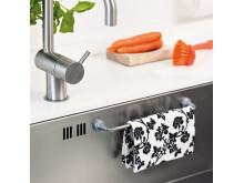 Magnetisk oppvaskklutholder