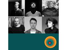 Roman Flügel, Move D, Sonja Moonear, Kink, Young Marco och Nina Kraviz