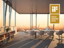 Ett världsunikt fönsterband introduceras på marknaden och belönas med internationellt designpris