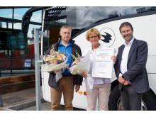 Jönköping är Sveriges bästa expressbusshållplats 2017