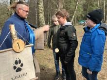 """Spännande att formellt bli utsedd till en del av """"Rävarna"""" tyckte femteklassare från Söndrebalgs skola under Snogespelen."""