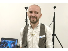 Daniel Kemppi, VR-pedagog. Foto: C.Fahlen
