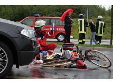 Unfall mit Radfahrer