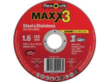 Flexovit-Maxx3-Skæreskiver-1,6mm