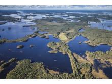 Åsnen Nationalpark fra toppen