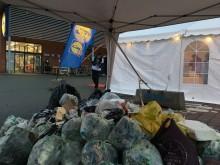 Søndag d. 25. november samlede de fremmødte til Waste Hunt og Lidls affaldsjagt mere end 60 kg. affald ind fra naturen i Aarhus.