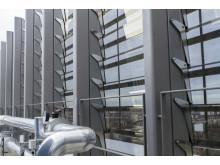 EuroLam Lamellenfenster am Gebäude LIVING LEVELS in Berlin