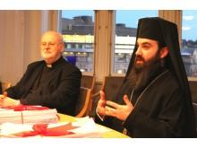 Kyrkoledarna i samtal med Morgan Johansson
