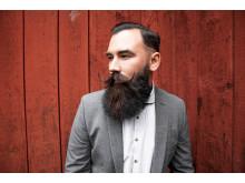 Kenny Lindberg tävlar om titeln Sveriges snyggaste skägg på lördag!