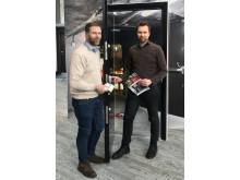Fredrik Skoglund, Country Manager, Daloc och Henrik Rosing, produktdirektør, Daloc